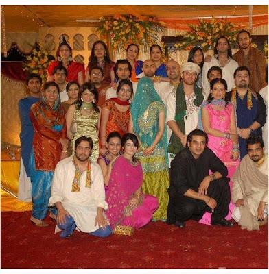 Mehndi28ModelArchitectSaadQureshi29 - Pakistani Celebrities Wedding