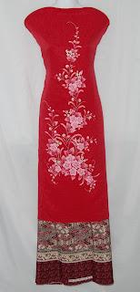 baju kurung sulam special