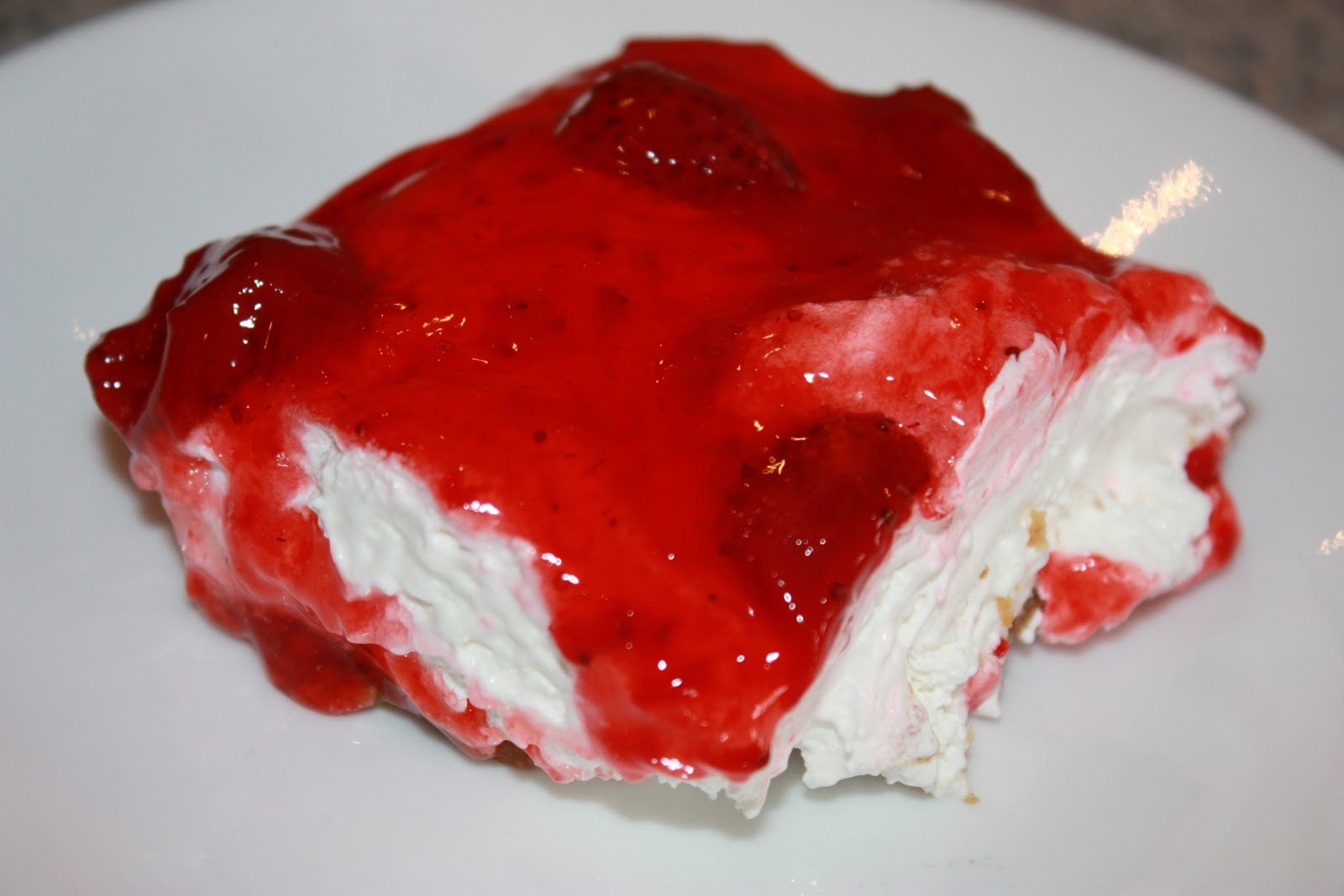 Kendra39;s Recipes: Strawberry Dessert