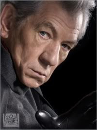 The old Magneto (Ian McKellen)