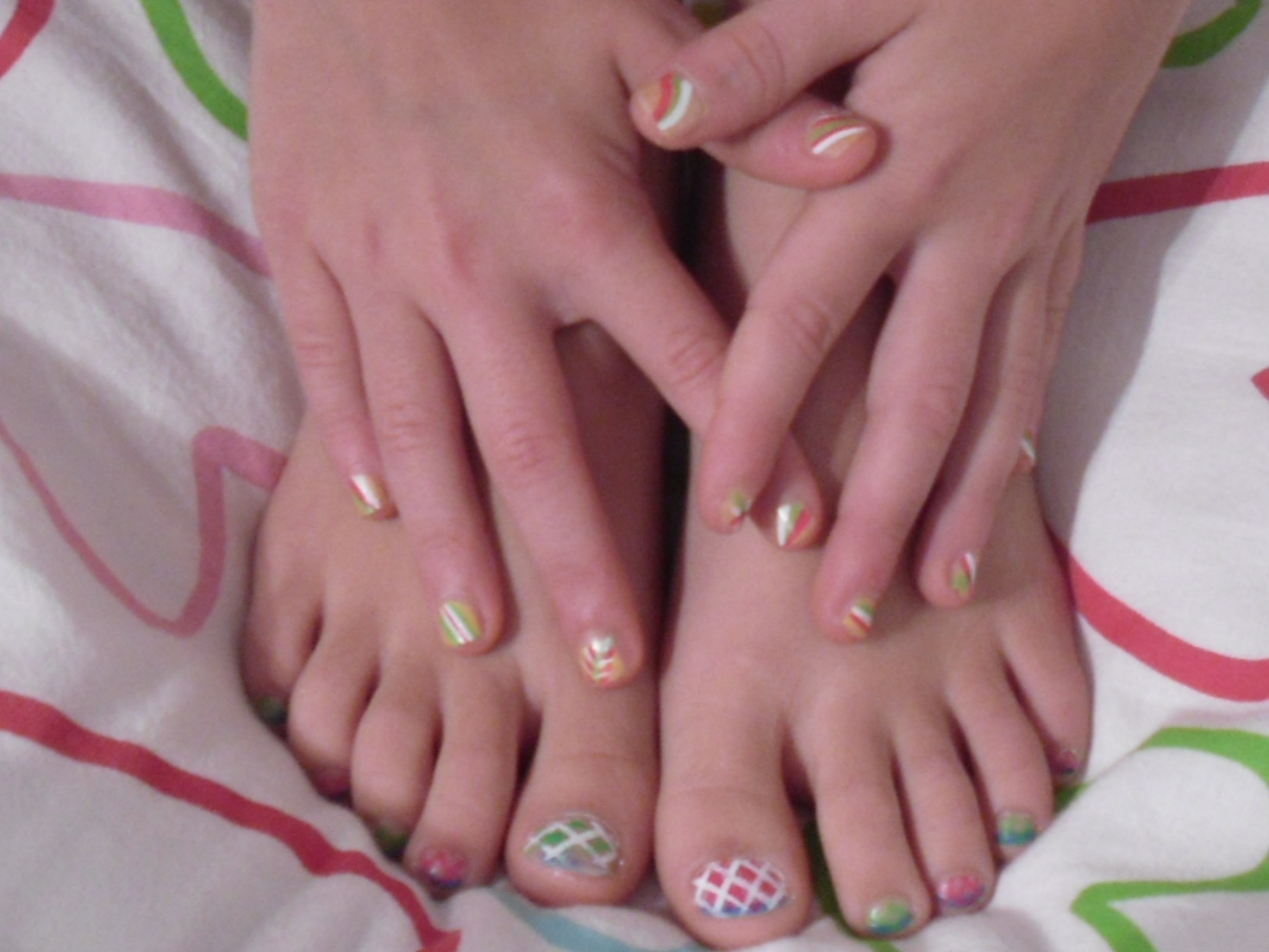 Nail Tech Make Up Artist Nail Designs For Funny Young Girls