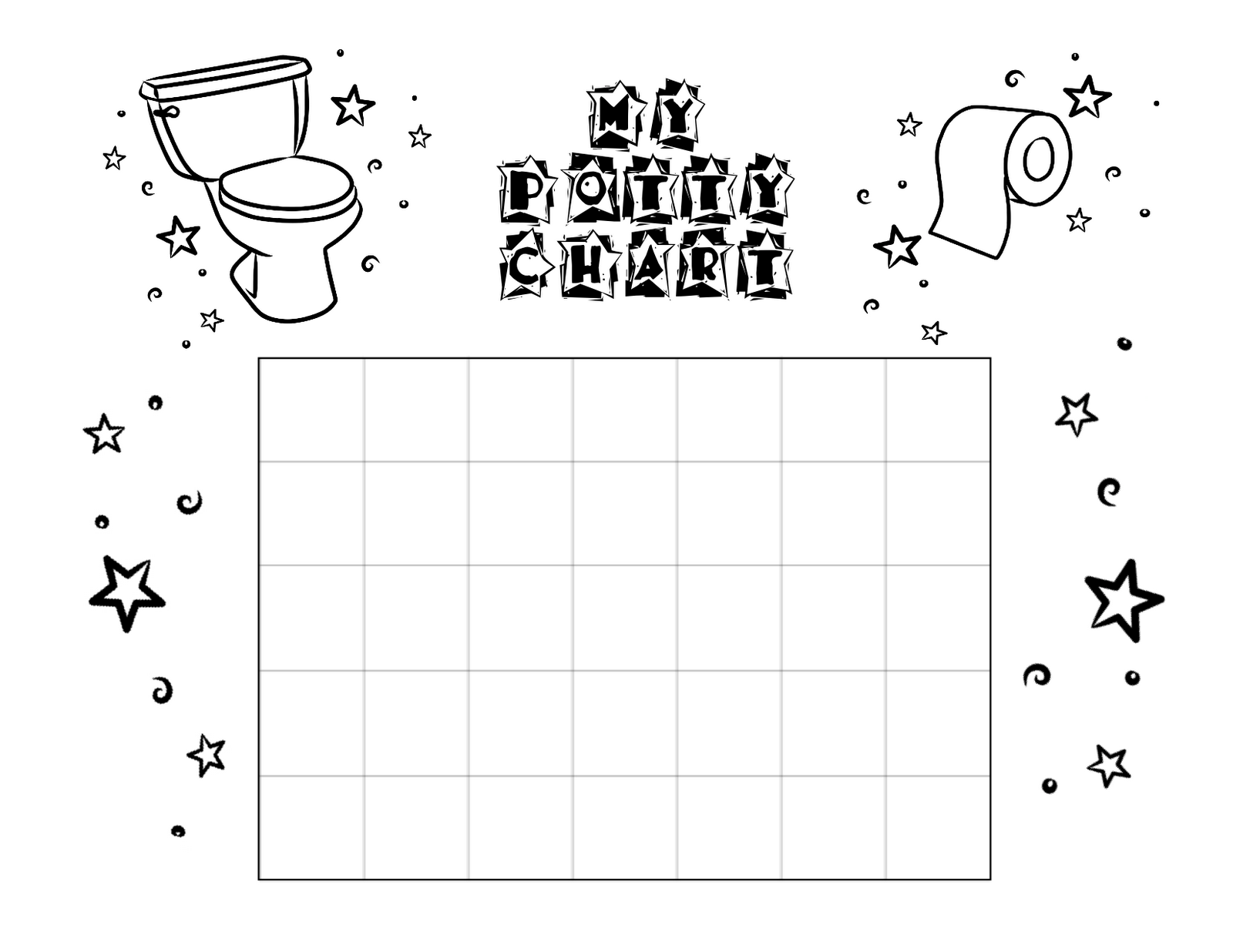 bust out your crayons potty chart potty chart