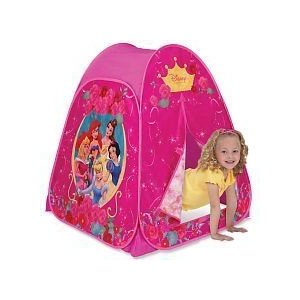 Twist u0027N Fold Pop-Up Setup! Split flap door for easy access u0026 hideaway fun! For indoor use only. Folds down for easy storage u0026 travel. Fits up to 2 kids .  sc 1 st  playhut disney & playhut disney: Disney Princess Hideaway Tent Playhut