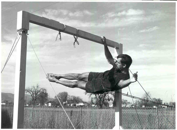 John Gill One-Armed Front Lever