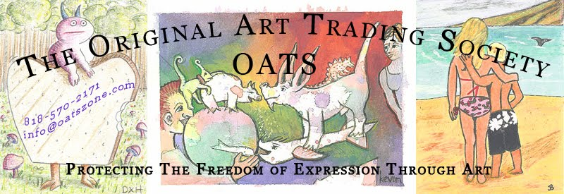 The Original Art Trading Society (OATS) Artist Trading Card Blog