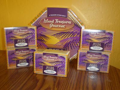 Island Treasures - Rum Cakes