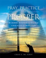 Pray, Practice And Prosper