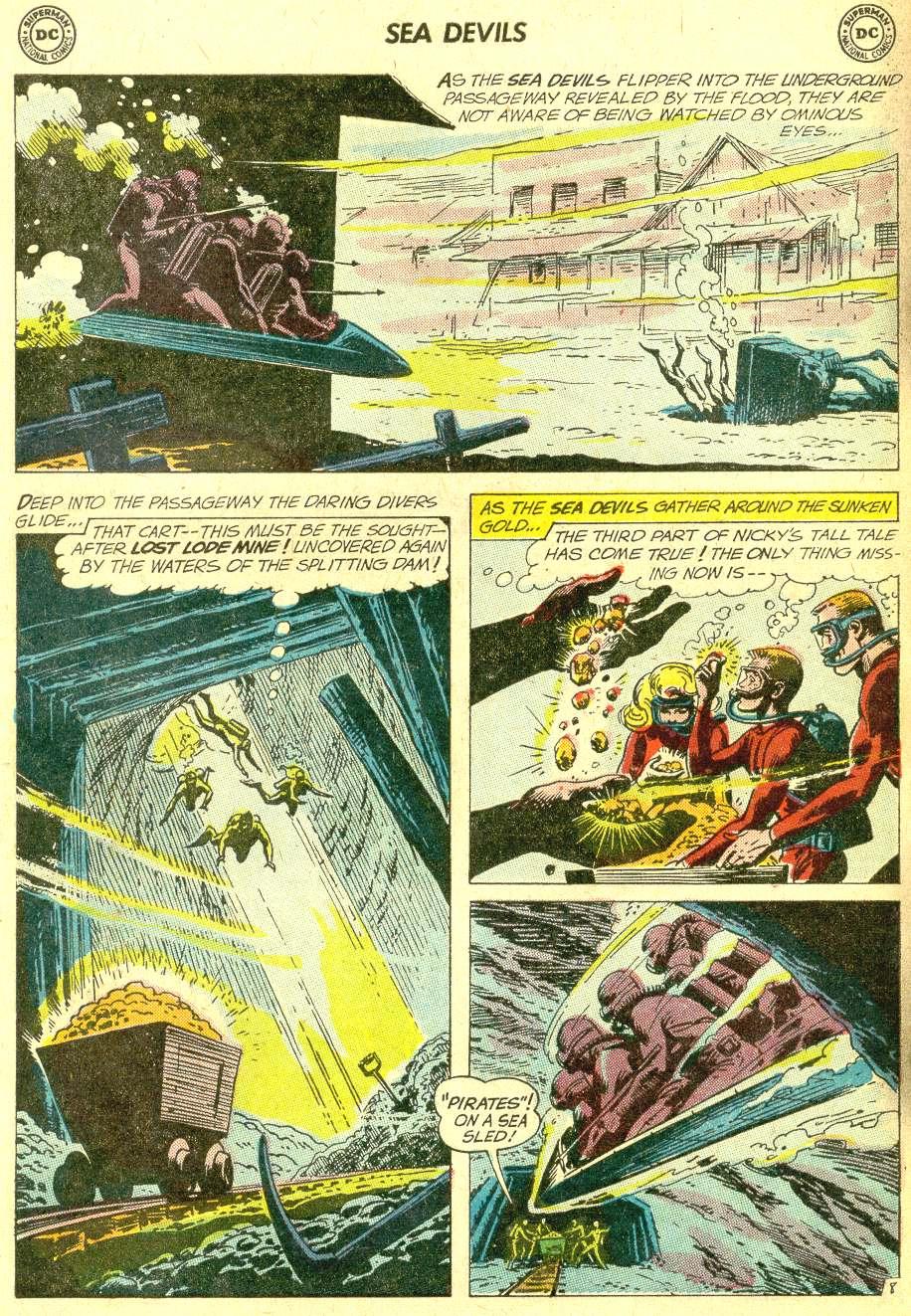 Read online Sea Devils comic -  Issue #10 - 13