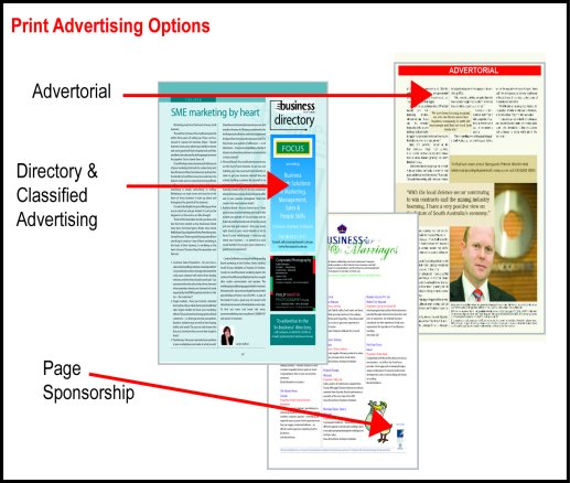 newspaper ads examples. advertisement examples.