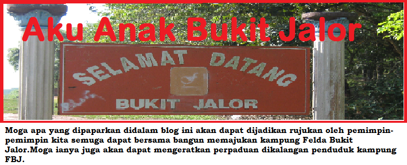 Aku Anak Bukit Jalor