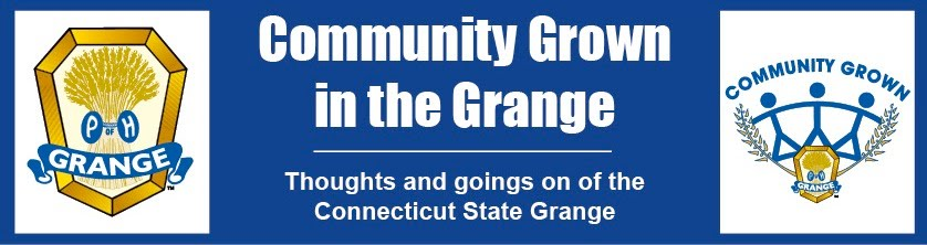 Connecticut State Grange President's Blog