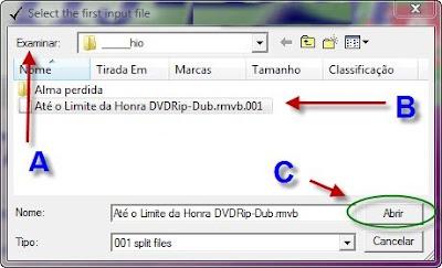 Como juntar arquivos com o HJSplit