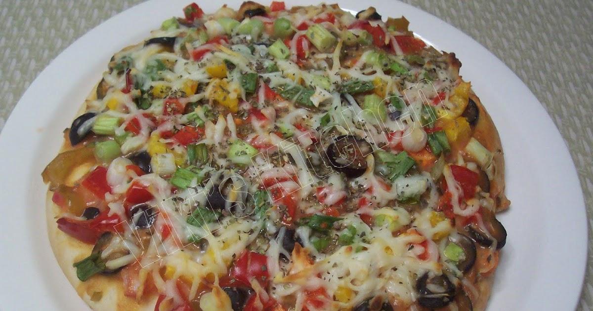 Viki 's Kitchen: Garden Pizza