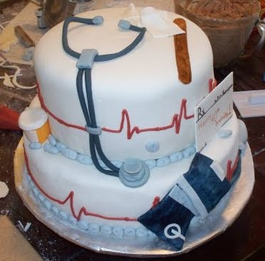 Birthday Cake Images For Doctors : Capital Cakes: Dr. Rodriguez Birthday Cake
