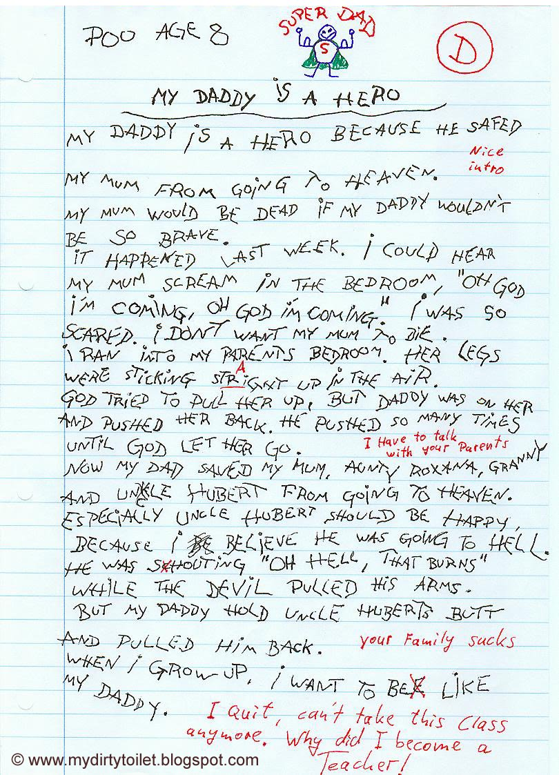 hero essay about my dad com hero essay about my dad