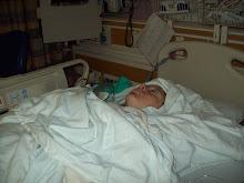 Naomi's scloiosis surgery
