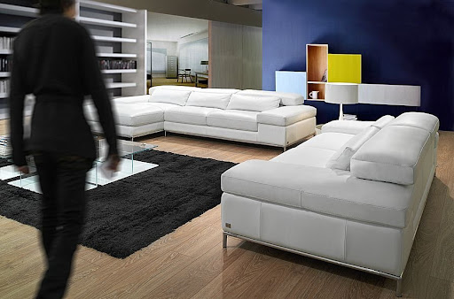 Fotos sofás cuero blanco