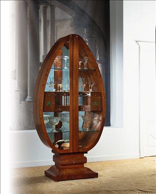 Decora y disena decoraci n con vitrinas para el hogar - Imagenes de vitrinas de madera ...