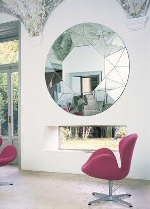 Decora y disena 15 estilos de espejos para decorar for Espejos redondos pequenos