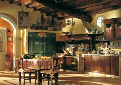 diseño de cocinas estilo country