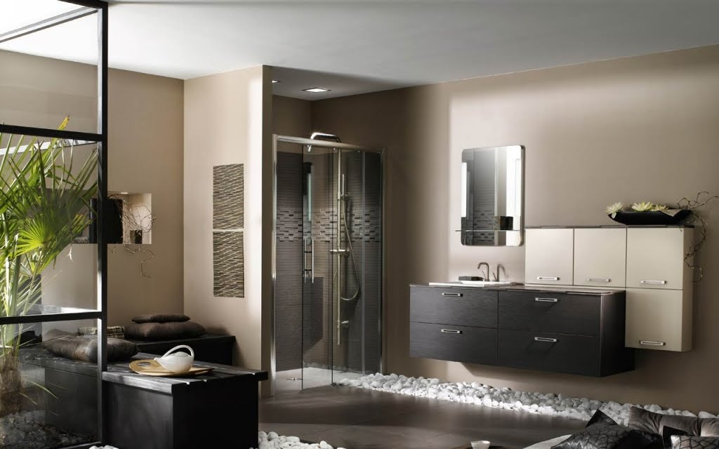 Baño Diseno Modernos:Spa-Like Bathroom Design Ideas