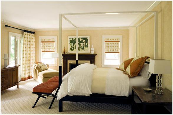Decora y disena 7 dormitorios matrimoniales por eric roth - Colores para dormitorios matrimoniales ...