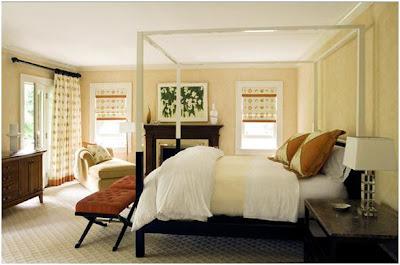 Decora y disena 7 dormitorios matrimoniales por eric roth for Cortinas para dormitorio matrimonial