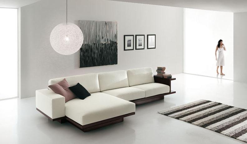 Decora y disena decorar la sala estilo minimalista for Decoracion de departamentos minimalistas