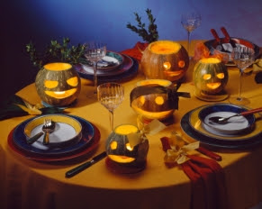 mesa comedor halloween 1 Ideas de Decoracin Interior: Halloween