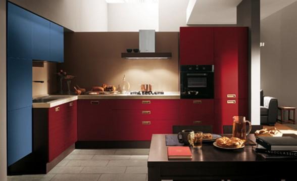 Decora y disena 5 cocinas color rojo - Cocinas color rojo ...