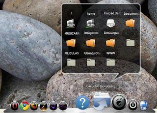 Barra estilo mac para ubuntu