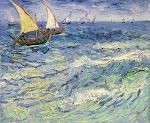 O mar é Deus e o barco sou eu e o que me leva para frente é o amor de Deus