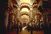 Moorish Pillars At the MosqueCathedral, Cordoba, Spain