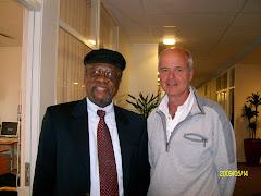 Bo with SA Ambassador, S.R. Makgetia