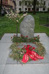 Late Olof Palme's Monument