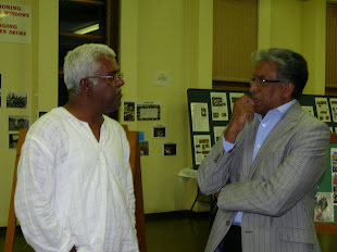 Ravi Pillay- member of Parliament and Ronnie Nair- speaker of HCM
