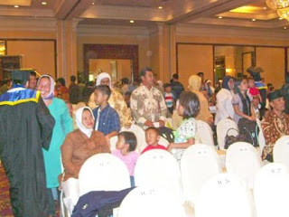 Graduates relatives