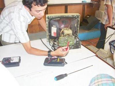 Computer monitor repair