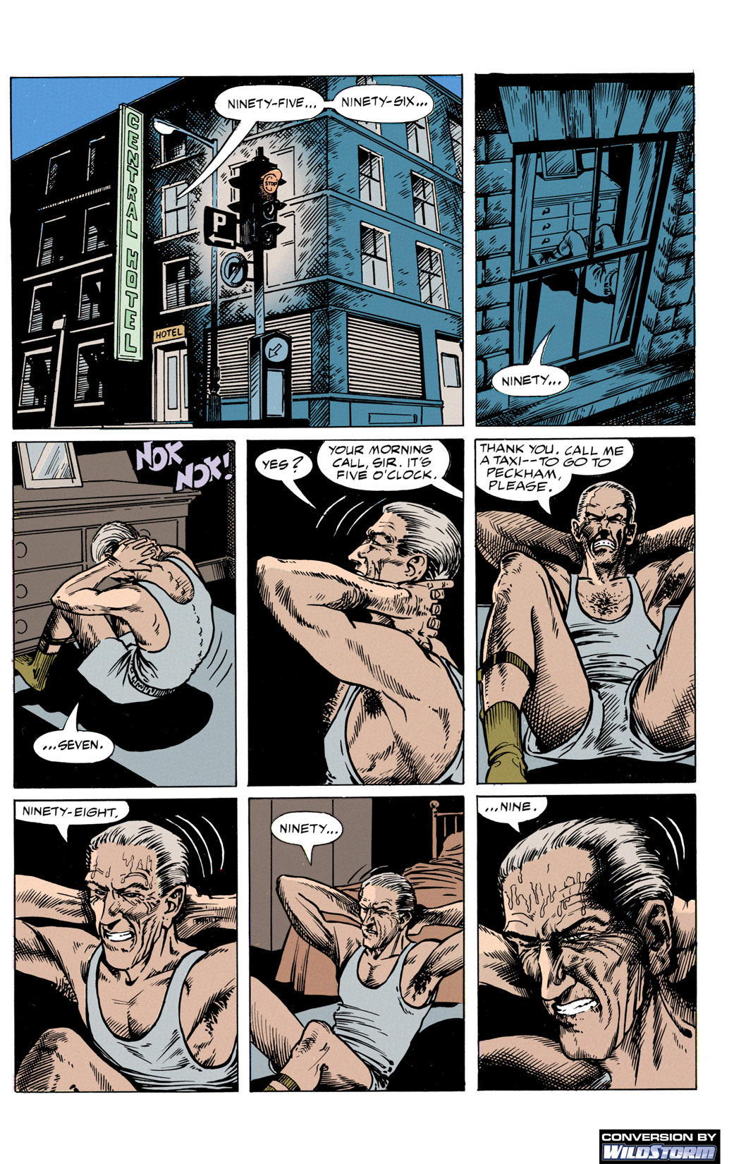 Hellblazer 30 Page 2