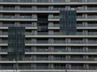 Shinonome, apartment, Kengo Kuma, Tokyo