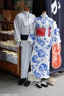 Yukata, a casual Kimono in summer