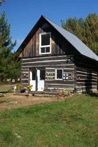 Log Home With Acreage For Sale