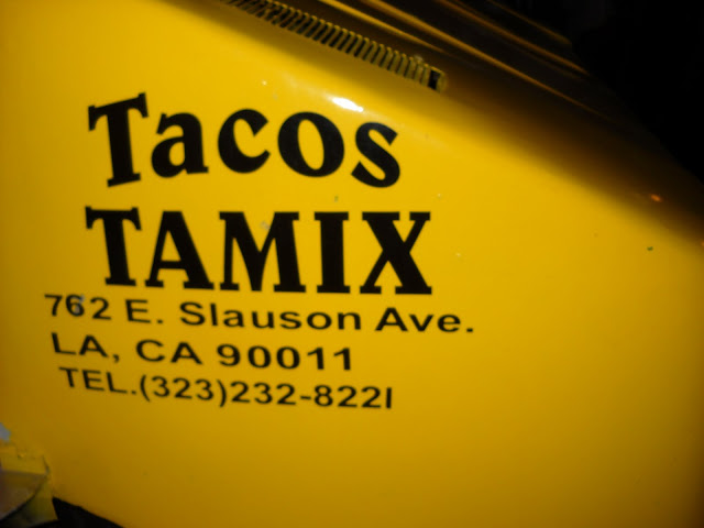 Banana wonder a real la taco truck tacos tamix los angeles fifteen minutes until the striking hour when the citys best taco truck found in a do it yourself car wash will close solutioingenieria Choice Image