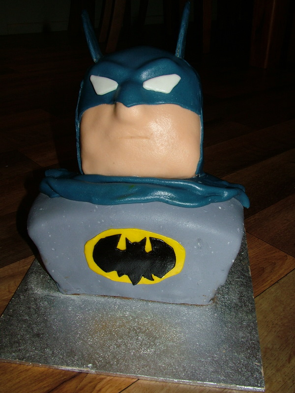 Piece of Cake: Batman Cake