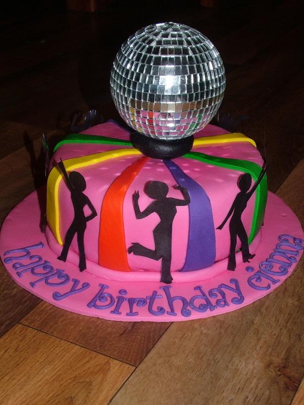 Cake Decorating Disco Ball : Disco Cake on Pinterest 50th Birthday Cakes, Birthday ...