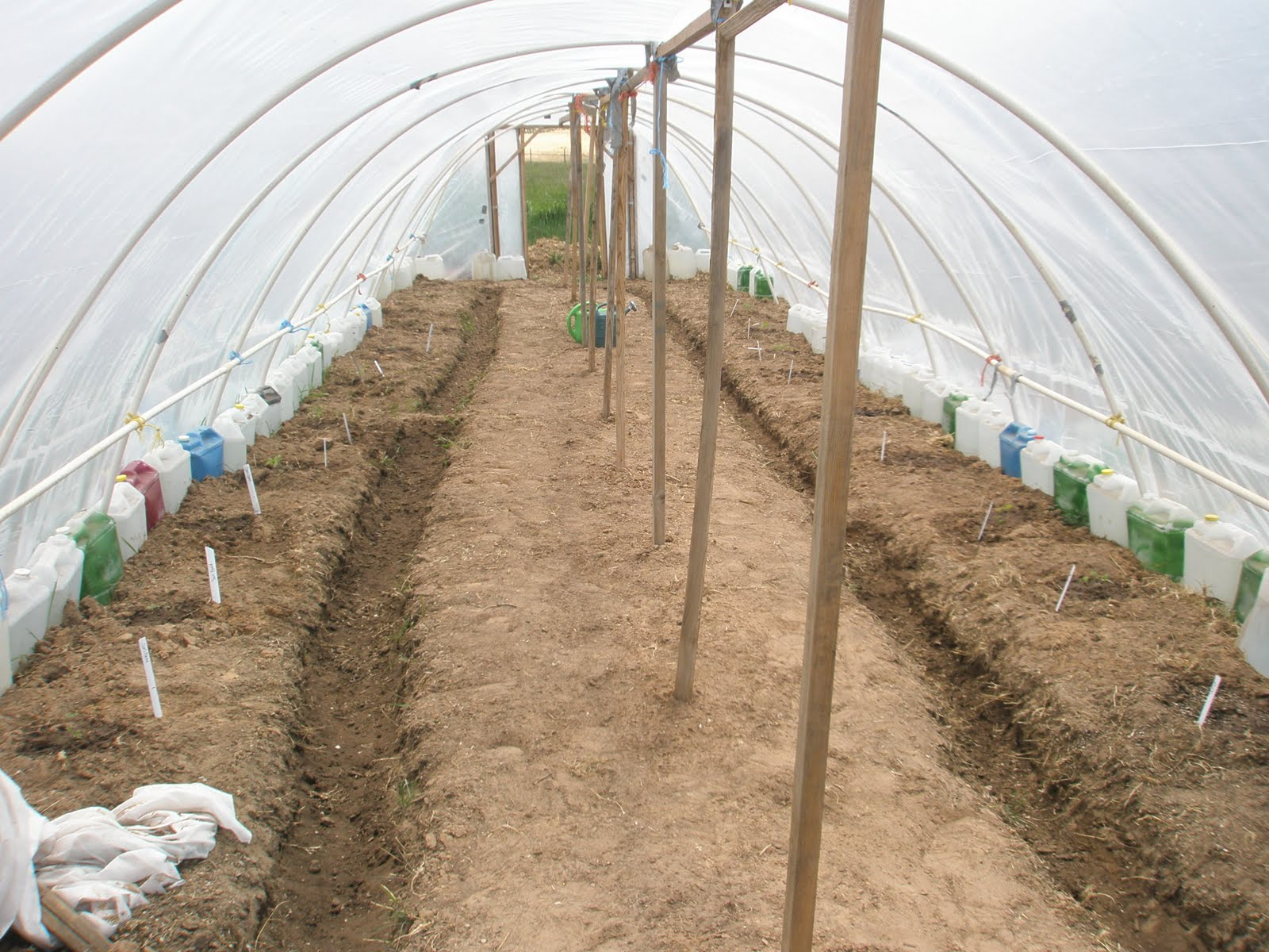 Captivating Greenhouse: Green Houses Are Another Means Of Combating Cold Weather. The  Farm Built A Straw Bale Green House. They Used Reclaimed Wood To Make Them  Frame, ...