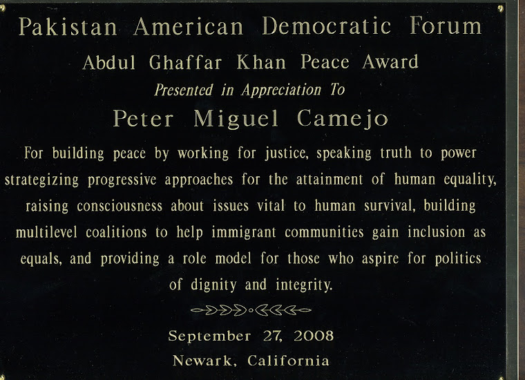 Pakistan American Democratic Forum Award
