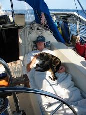 Randy sailing