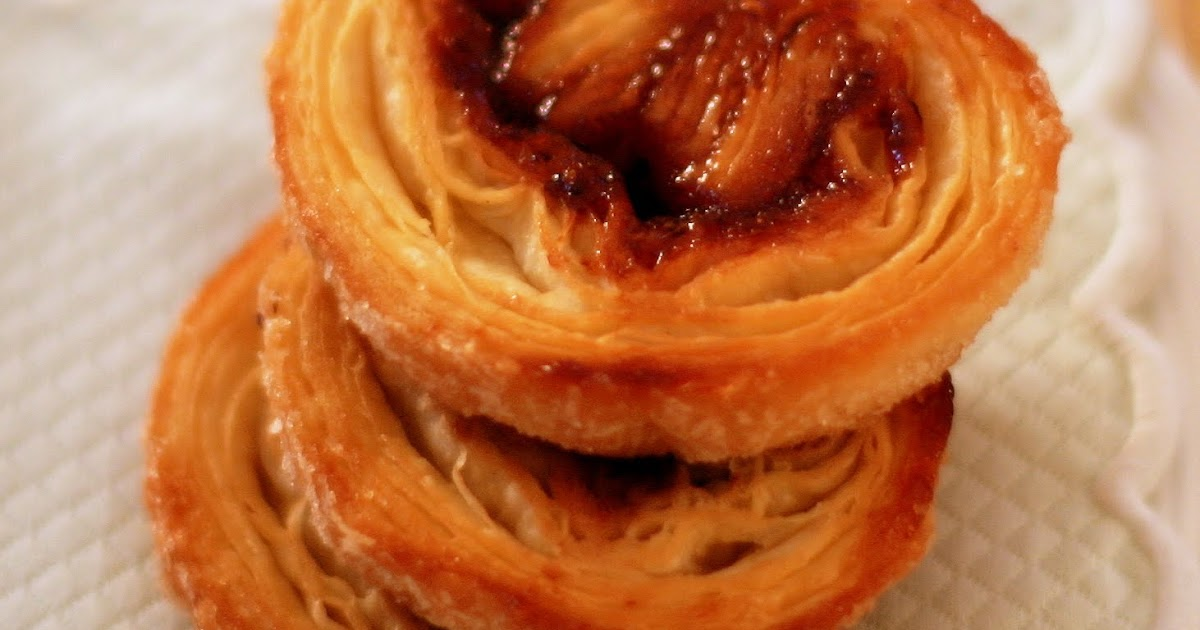 Tish Boyle Sweet Dreams: Raspberry Palmiers: A Lesson Learned