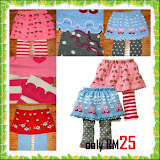 Nissen Skirt Legging RM25